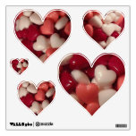 Valentine's Day Candy Hearts Wall Decals