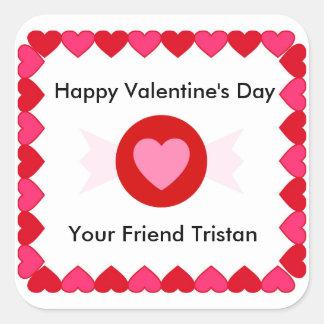 Valentine's Day Candy Sticker