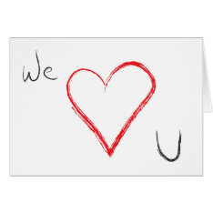 Valentine's Day Card at Zazzle