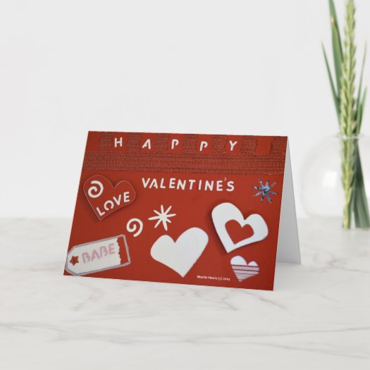 Valentine's Day Card (11) - Personalize/Customize