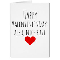 VALENTINES DAY CARD BOYFRIEND FUNNY FOR HIM
