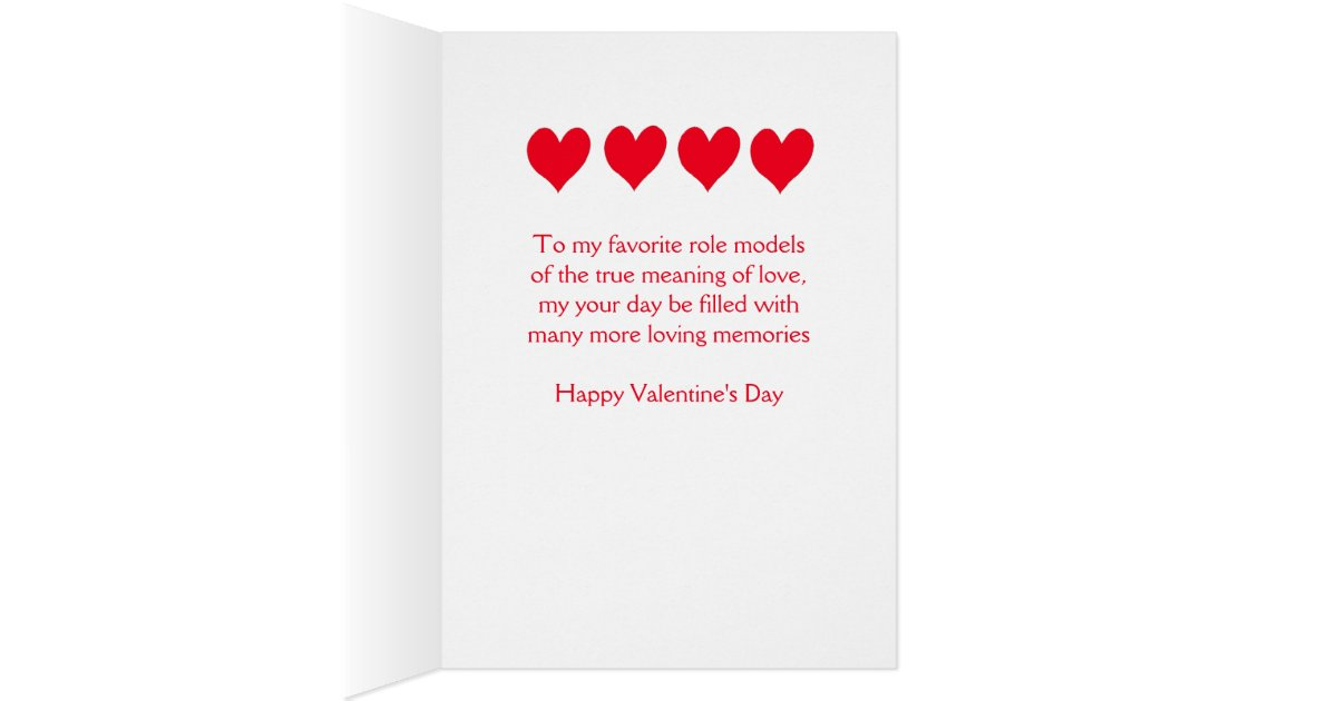 Valentines Day Card For A Special Mom And Dad – Valentines Card for Dad