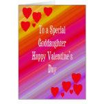 Valentine's Day Card For Goddaughter