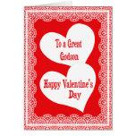 Valentine's Day Card For Godson