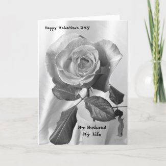 Valentine's Day card for Husband card