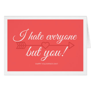 Valentine's Day Card For Introverts at Zazzle
