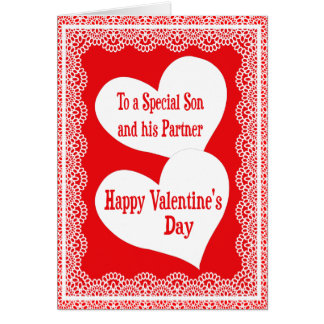 valentines day card for son and his partner - Gay Valentines Cards