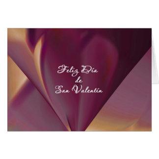 Valentine's Day Card in Spanish