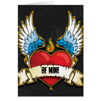 Valentine's Day Card- Punk Heart Card