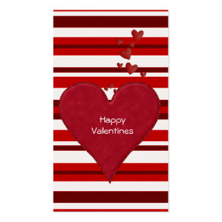 Valentines Day Cards to hand out for Kids Double-Sided Standard Business Cards (Pack Of 100)