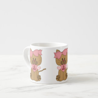 Valentines Day Cat Be Mine Espresso Cup