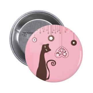Valentine's Day Cat Pins