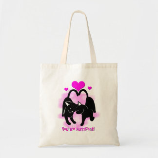 Valentines Day Cats Tote Bag