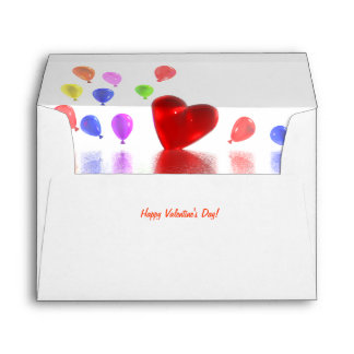 Valentines Day Celebration Envelopes