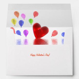 Valentines Day Celebration Envelope