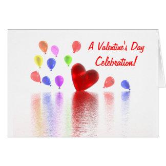 Valentines Day Celebration Invitation