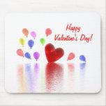 Valentines Day Celebration Mousepad