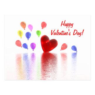 Valentines Day Celebration Postcard