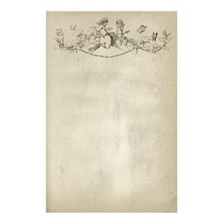 Valentine's Day Cherubs Stationery Paper