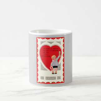 Valentine's Day Child, Heart & Verse Coffee Mug
