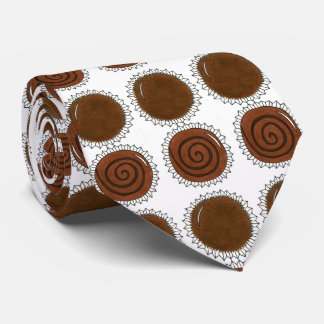 Valentine's Day Chocolate Bon Bon Chocoholic Tie