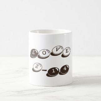 Valentine's Day Classic Love Mug Bistre Basic White Mug