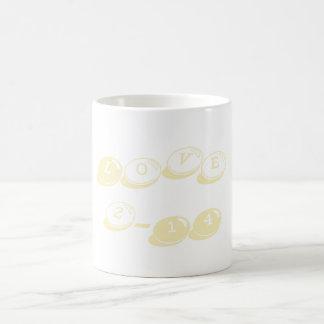 Valentine's Day Classic Love Mug Blond Basic White Mug