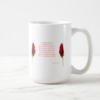 Valentines day classic white coffee mug