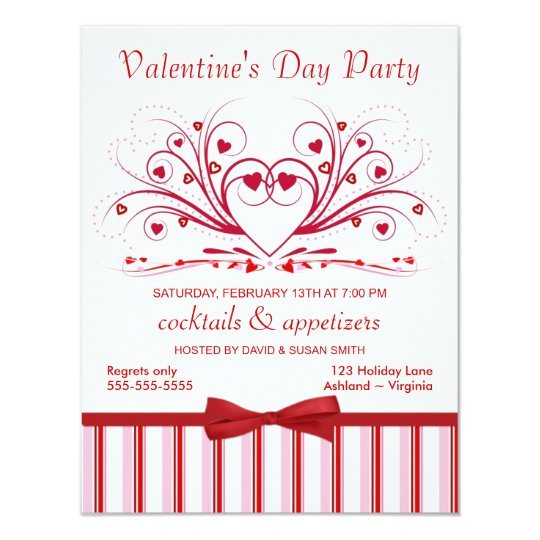 ValentineS Day Cocktail Party Invitations  Zazzle