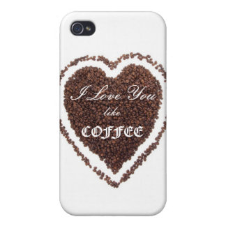 Valentine's Day Coffee love  iPhone 4/4S Covers