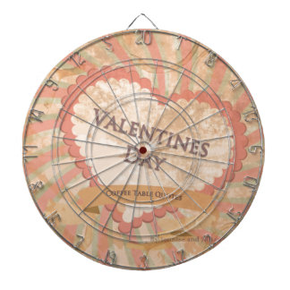 Valentines day Coffee Table Quotes Book Cover Dartboard