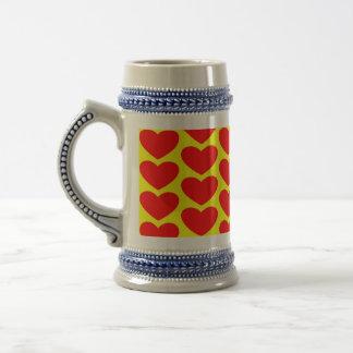 Valentine's Day Colorful Stein Mug