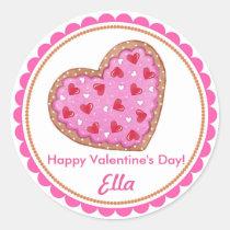 Valentine's Day Cookie Stickers