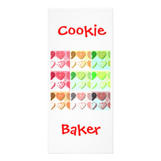 Valentine's Day Cookies Rack Card