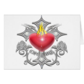 VALENTINE'S DAY CROSS HEART GREETING CARD