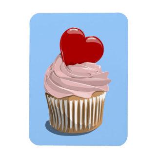 Valentine's day cupcake premium magnet