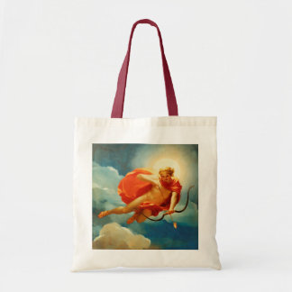 Valentine's Day Cupid Firing His Love Arrows Budget Tote Bag