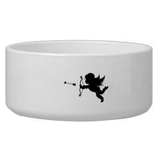 Valentine's Day Cupid Pet Water Bowls