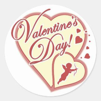 Valentine's Day Cupid Sticker