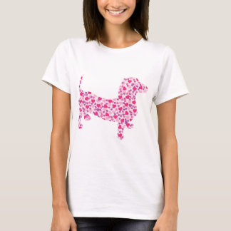 Valentine's Day Dachshund T-Shirt