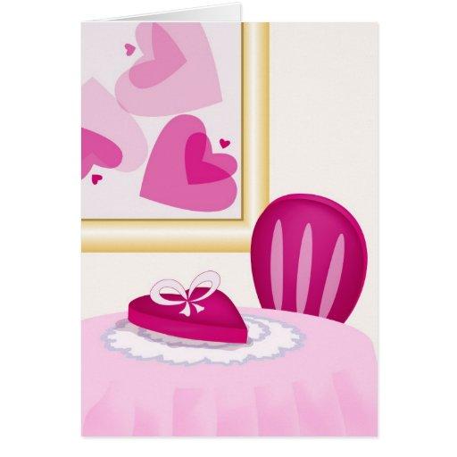 Valentine's Day Dinner Card