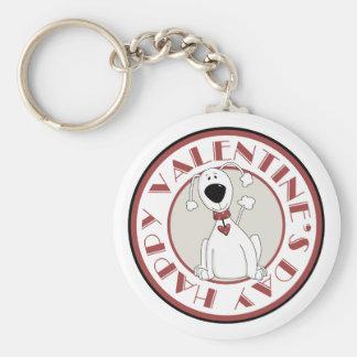 Valentine's Day Dog Valentine's Day Keychain