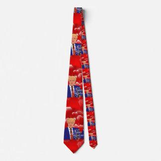 valentines day donald trump neck tie