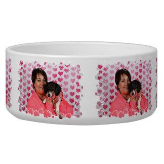 Valentine's Day - Dottie - Dachshund Bowl