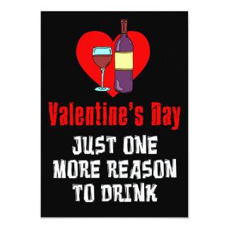 Valentine's Day Drinking Party Invite