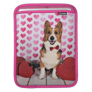 Valentine's Day - Dunkin - Corgi iPad Sleeve