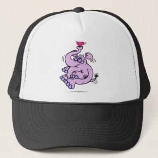 Valentines Day Elephant Trucker Hat
