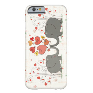 Valentine's Day Elephants Barely There iPhone 6 Case