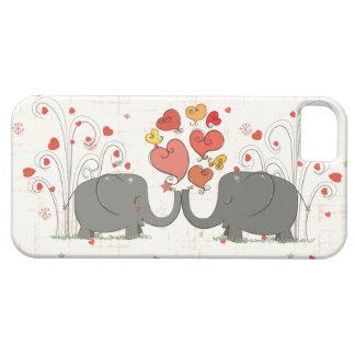 Valentine's Day Elephants iPhone 5 Cover