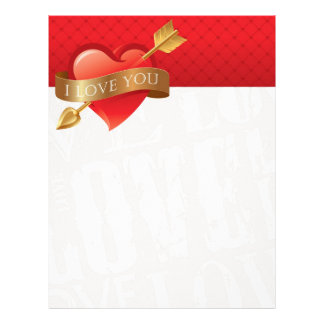 Valentine's Day Expression of Love Letterhead